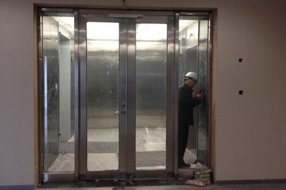 办公楼防火门安装